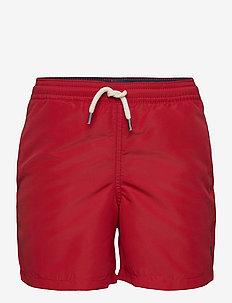 Traveler Swim Trunk - swimshorts - rl 2000 red