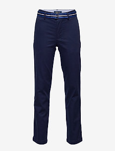 STRTCH TISSUE CHINO-POLO PANT-BT-PN - trousers - newport navy