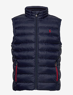 Packable Quilted Vest - vester - newport navy