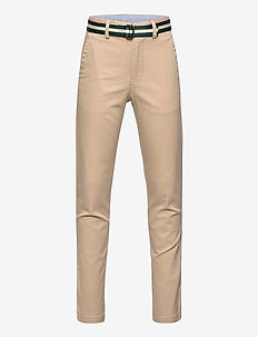 STRTCH TISSUE CHINO-PREPPY PANT-BT- - pantalons - coastal beige