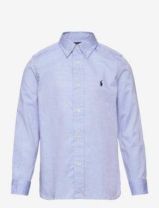 PINPOINT OXFORD-SLIM FIT-TP-SHT - chemises - bsr blue
