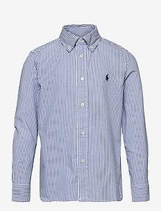 PINPOINT OXFORD-SLIM FIT-TP-SHT - chemises - bsr blue/white