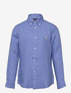 Linen Shirt - overhemden - harbor island blu