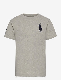 Big Pony Cotton Jersey Tee - À manches courtes - new grey heather