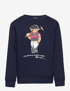 Polo Bear Fleece Sweatshirt - sweatshirts - cruise navy