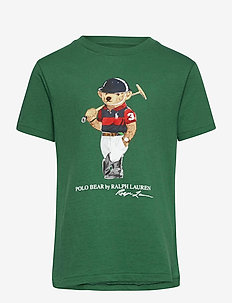 Polo Bear Cotton Jersey Tee - À manches courtes - stuart green