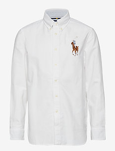 Big Pony Cotton Oxford Shirt - WHITE