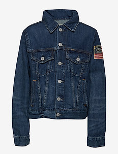 DENIM-TRUCKER JKT-OW-DNM - GORDON WASH