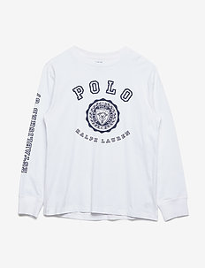 Cotton Jersey Graphic T-Shirt - WHITE