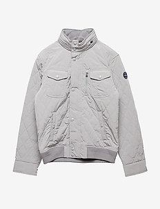 MATTE POLY-COMMUTERCOAT-OW-JKT - CHANNEL GREY