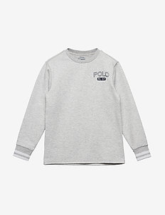 DOUBLE KNIT TECH-LS CN-TP-KNT - GREY ASH HEATHER