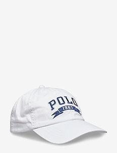 Cotton Chino Baseball Cap - WHITE