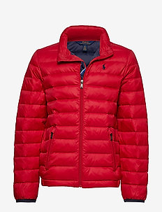 Packable Quilted Down Jacket - RL2000 RED