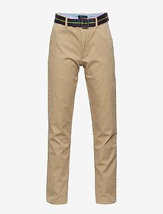 Belted Super Skinny Chino Pant - CLASSIC KHAKI