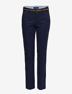 Belted Super Skinny Chino Pant - FRENCH NAVY