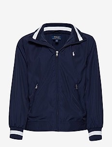 Hooded Windbreaker - TRUE NAVY