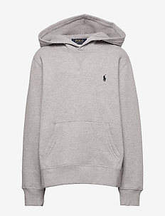 Cotton-Blend-Fleece Hoodie - hoodies - dark sport heathe