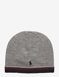 MERINO HAT-APPAREL ACCESSORIES-HAT - DARK SPORT HEATHE