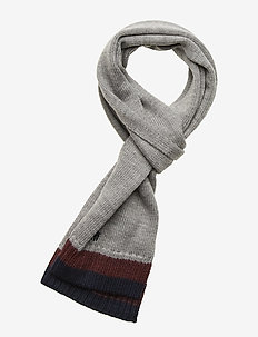SCARF-APPAREL ACCESSORIES-SCARF - DARK SPORT HEATHE
