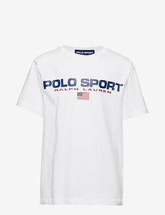 Polo Sport Cotton Jersey Tee - WHITE