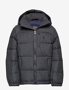 Quilted Down Jacket - MECHANIC GREY