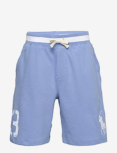 Big Pony Cotton Mesh Short - FALL BLUE