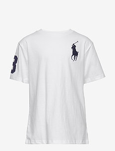 Big Pony Cotton Jersey Tee - krótki rękaw - white