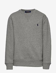 Cotton-Blend-Fleece Sweatshirt - sweatshirts - dark sport heathe