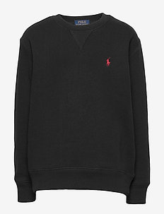 Cotton-Blend-Fleece Sweatshirt - svetarit - polo black