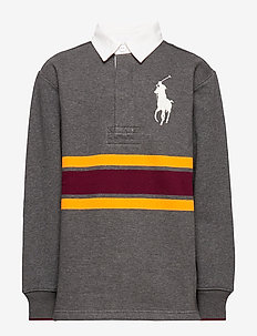 Rugby Sweatshirt - FLANNEL GREY HEAT