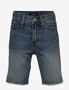 Sullivan Slim Denim Short - shorts - crawfield wash
