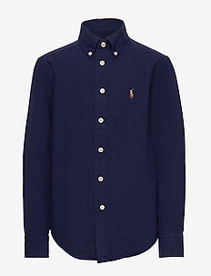 Cotton-Blend Shirt - NEWPORT NAVY