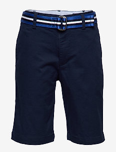 Slim Fit Belted Chino Short - NEWPORT NAVY
