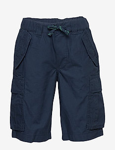 Cotton Ripstop Cargo Short - shorts - newport navy