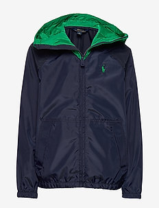 Water-Resistant Jacket - windbreaker - newport navy