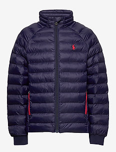 Packable Quilted Jacket - puffer & padded - newport navy