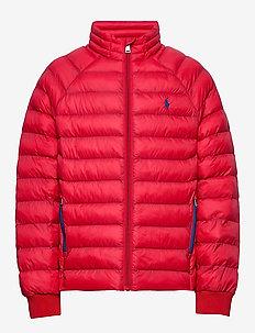 Packable Quilted Jacket - dunjakker & forede jakker - rl 2000 red