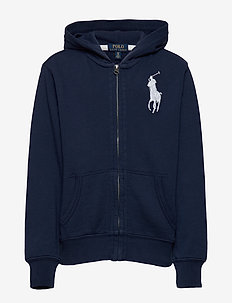 Big Pony French Terry Hoodie - NEWPORT NAVY