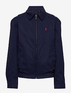 Water-Resistant Twill Jacket - NEWPORT NAVY