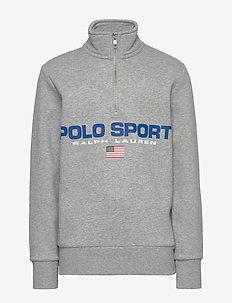 Polo Sport Half-Zip Sweatshirt - sweatshirts - andover heather