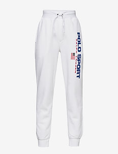 Polo Sport Fleece Jogger - WHITE