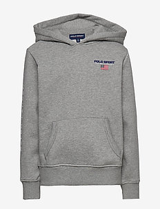 Polo Sport Fleece Hoodie - ANDOVER HEATHER