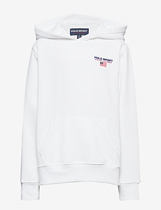 Polo Sport Fleece Hoodie - hupparit - white