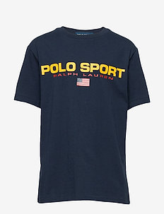 Polo Sport Cotton Jersey Tee - CRUISE NAVY