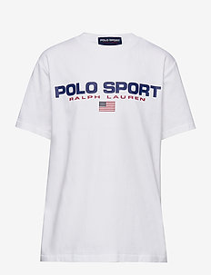 Polo Sport Cotton Jersey Tee - short-sleeved - white