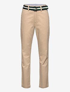 Belted Super Skinny Chino - bukser - coastal beige