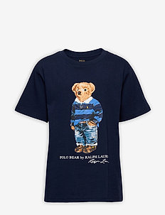 Polo Bear Cotton Jersey Tee - krótki rękaw - cruise navy