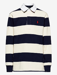 YD 16/1 JERSEY-LS RUGBY-TP-KNT - polo shirts - nevis