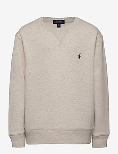 Cotton-Blend-Fleece Sweatshirt - svetarit - american heather