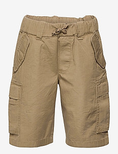 Cotton Ripstop Cargo Short - shorts - desert khaki